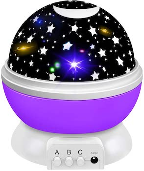 Tesoky Star Night Light Projector for Baby