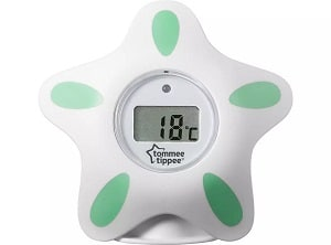 The Tommee Tippee bath and room thermometer