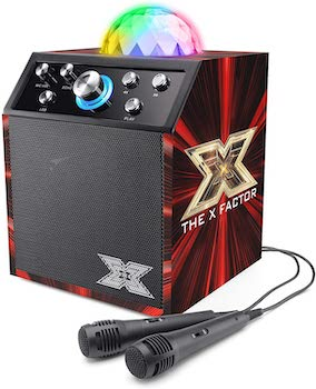 The X Factor Kids Karaoke Machine and Microphone