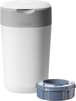 Tommee Tippee Sangenic Twist and Click Advanced Nappy Disposal Tec Nappy Bin