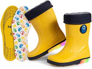 Wellies with Detachable Lining