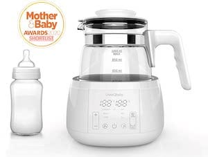 ÜneeQbaby Baby Formula Kettle with Built in Thermostat