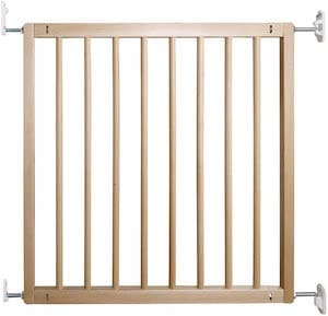 BabyDan No Trip Beechwood Hardware Fit Safety Baby Gate