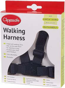 Clippasafe Walking Harness and Reins