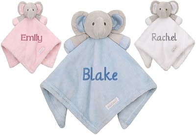MyBaby Personalised Embroidered Baby Soother