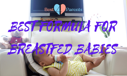 best formula for breastfed babies UK