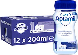 Aptamil First Infant Milk Ready To Feed (from birth)