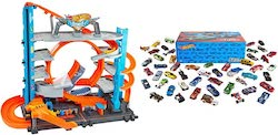 Hot Wheels City Garage with Loops and Shark