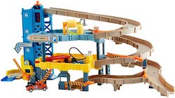 Matchbox Large-Scale 4-Level Garage Play Set and Tow Truck
