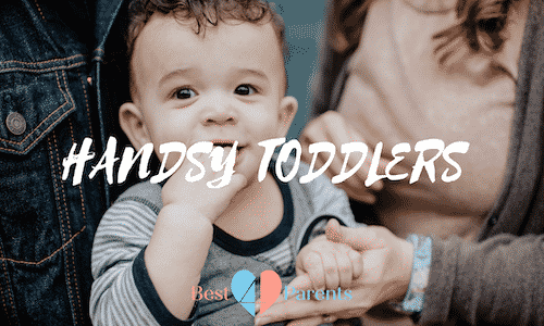 Why Does My Toddler Put their Hands Down My Shirt?