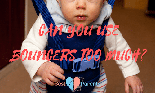 how long can my baby stay in a bouncer?